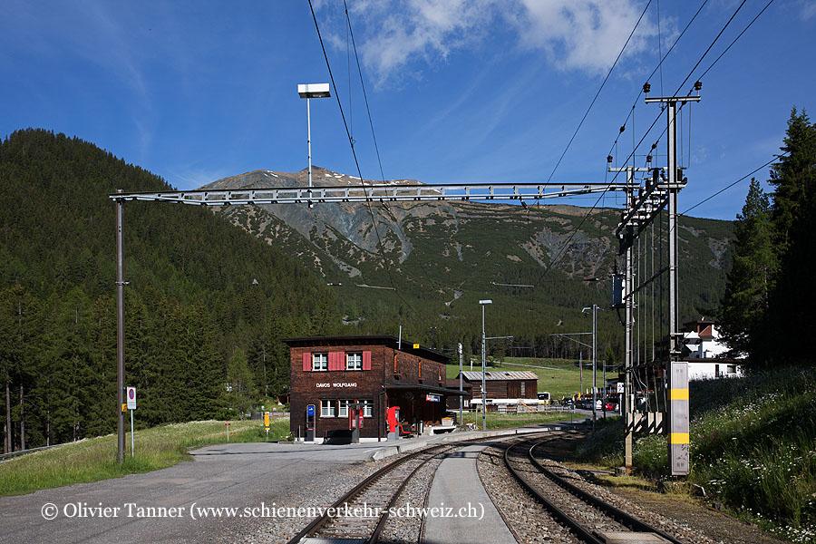 """Bahnhof """"Davos Wolfgang"""""""