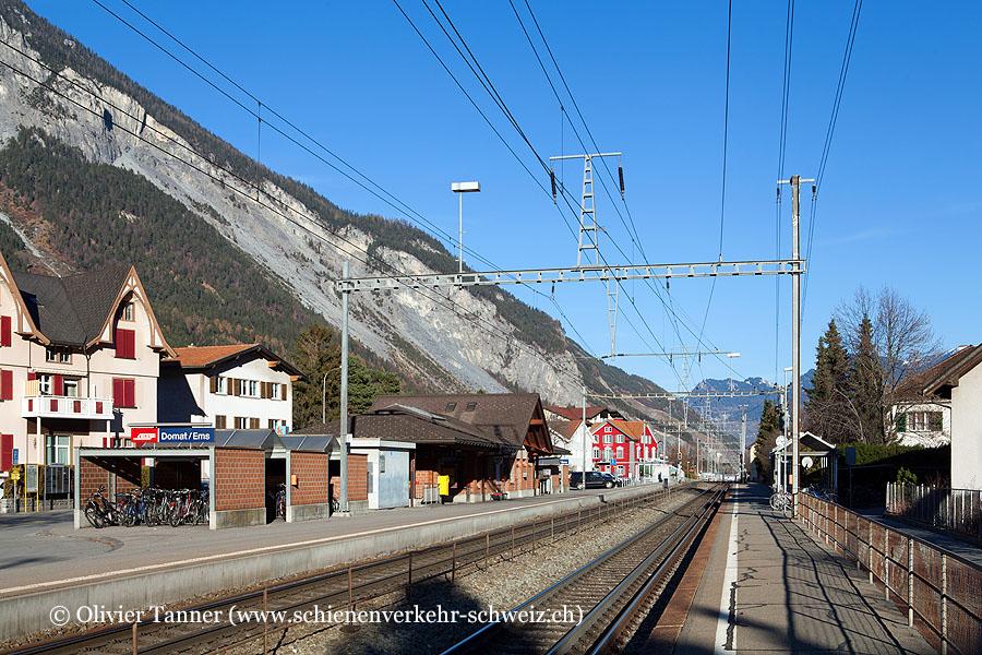"""Bahnhof """"Domat Ems"""""""