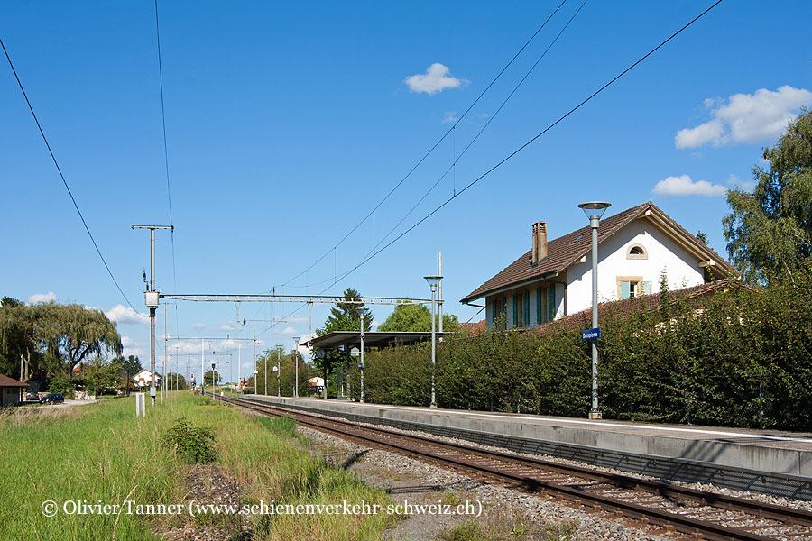 "Bahnhof ""Dompierre"""
