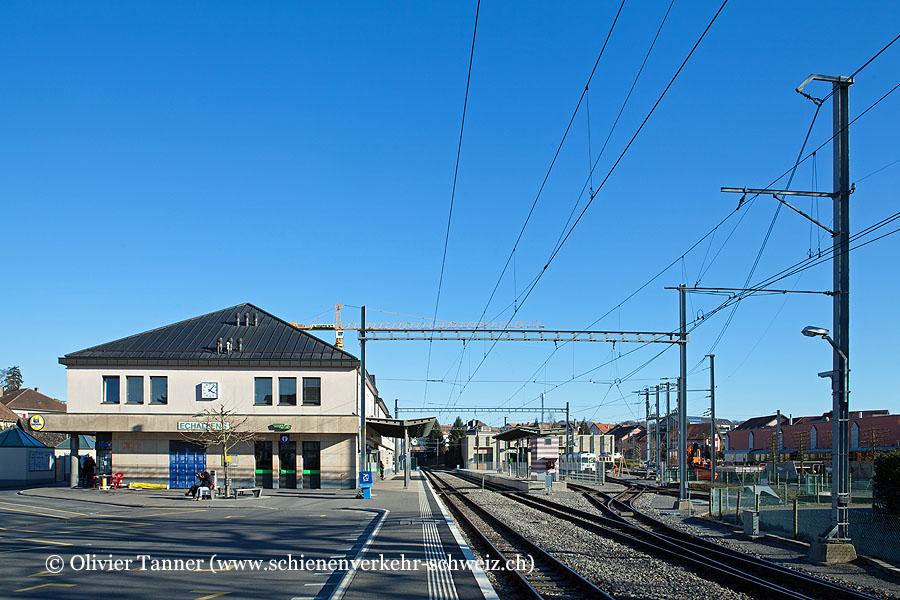 """Bahnhof """"Echallens"""""""