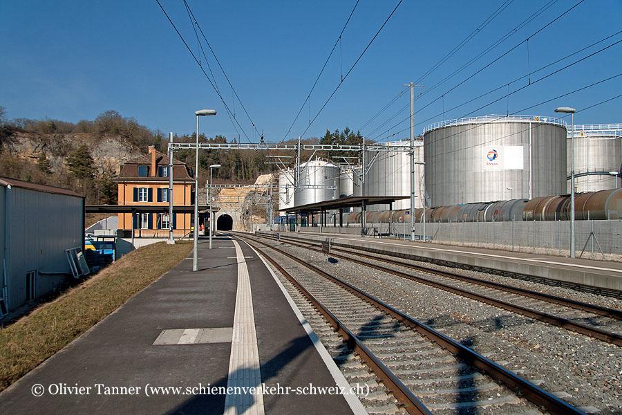 """Bahnhof """"Eclépens"""""""