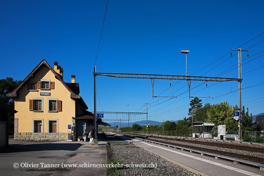 "Bahnhof ""Ependes"""