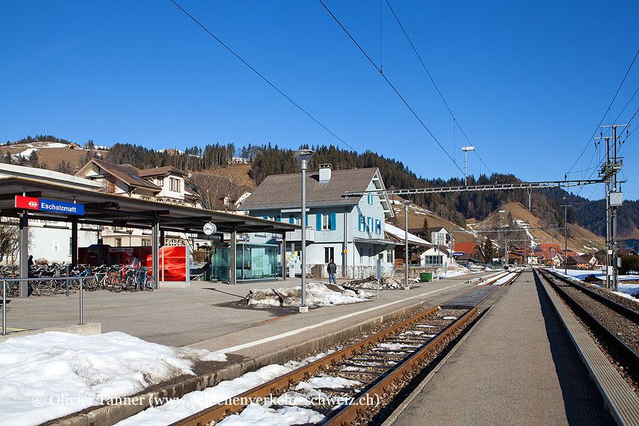 "Bahnhof ""Escholzmatt"""