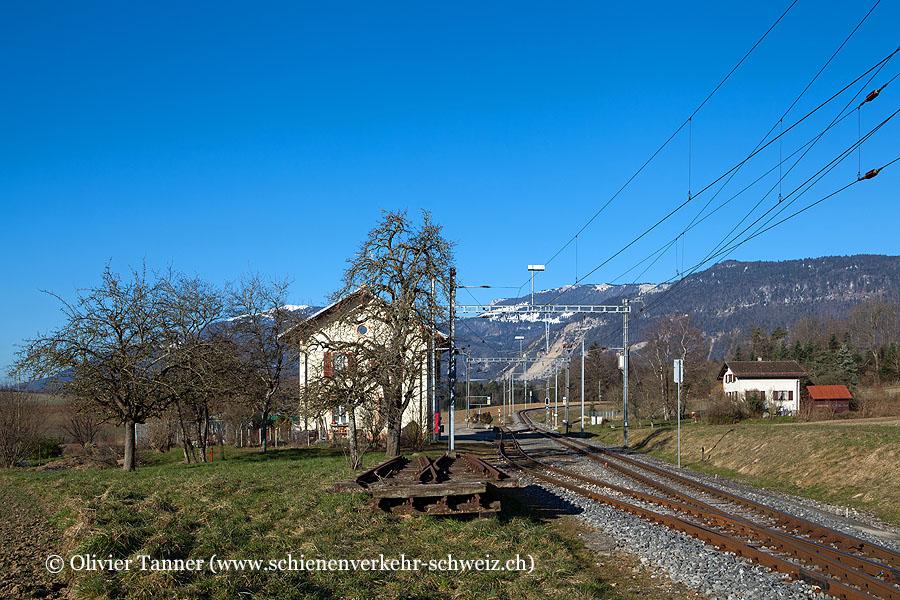 """Bahnhof """"Essert-sous-Champvent"""""""