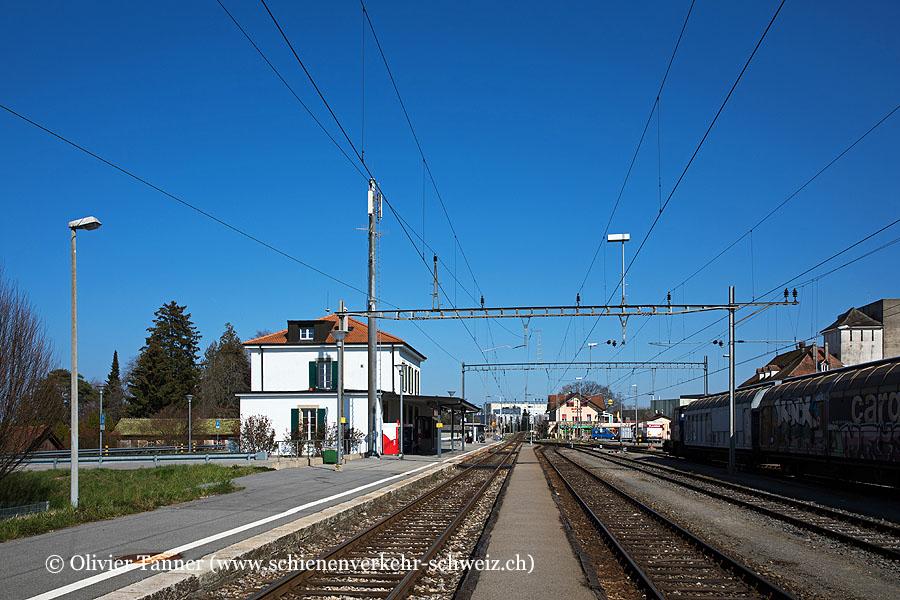 """Bahnhof """"Estavayer-le-Lac"""""""