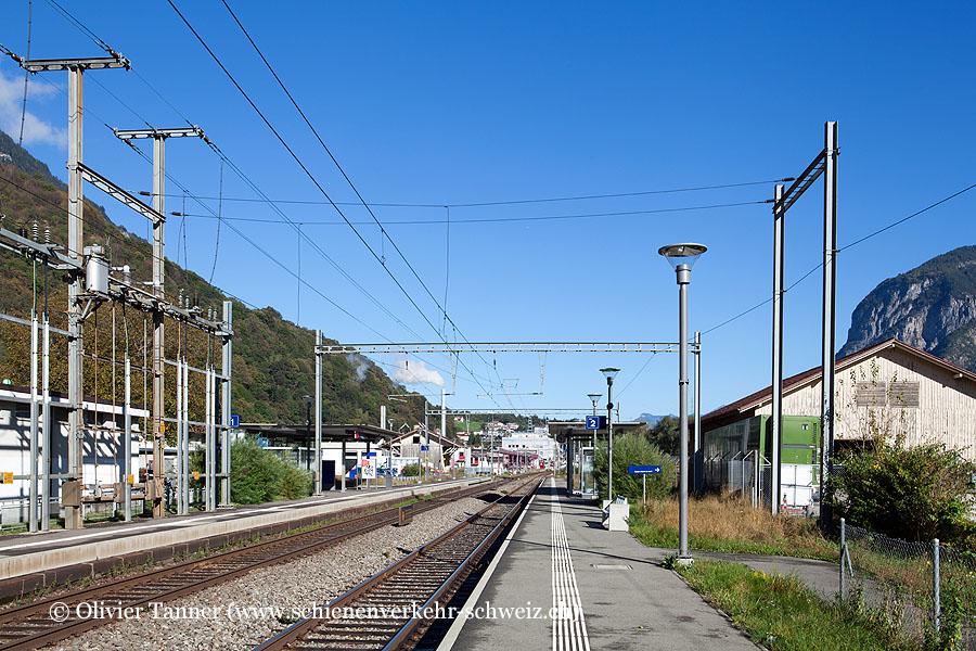 "Bahnhof ""Evionnaz"""