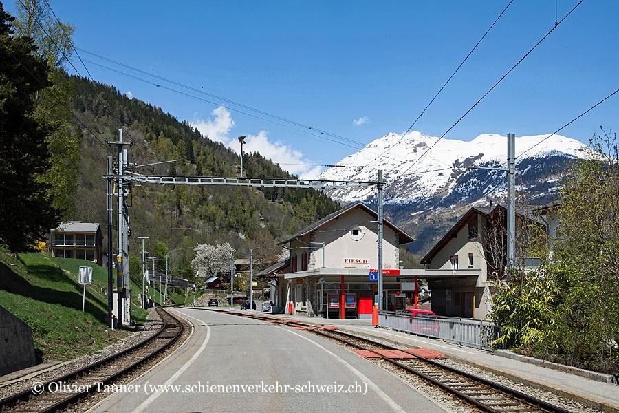 """Bahnhof """"Fiesch"""""""
