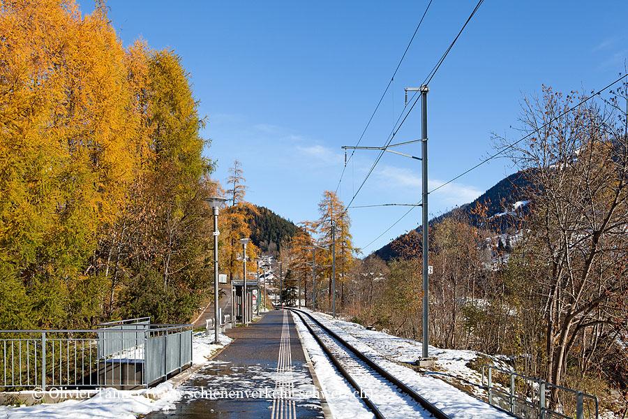 """Bahnhof """"Fiesch Sport- Feriencenter"""""""