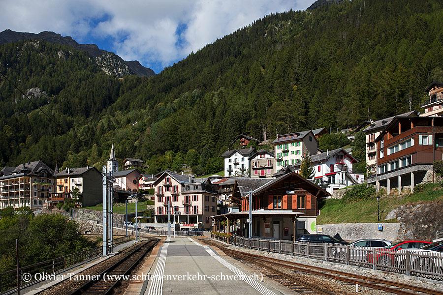 """Bahnhof """"Finhaut"""""""