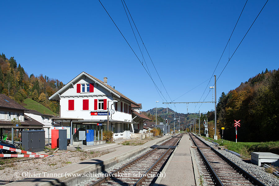 """Bahnhof """"Fischenthal"""""""