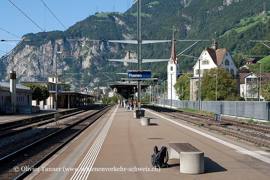 """Bahnhof """"Flüelen"""""""