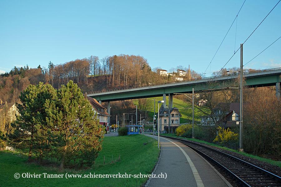 """Bahnhof """"Flamatt Dorf"""""""