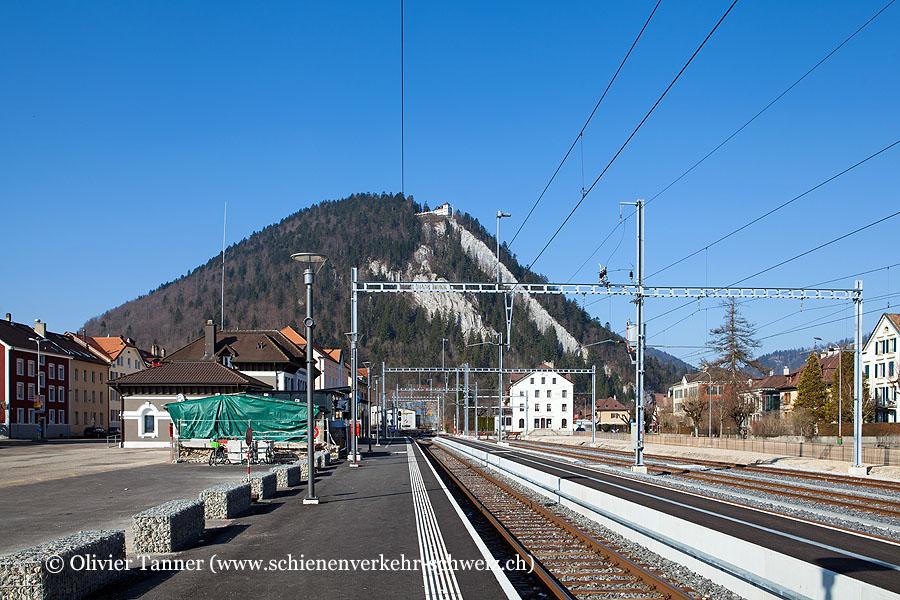 """Bahnhof """"Fleurier"""""""
