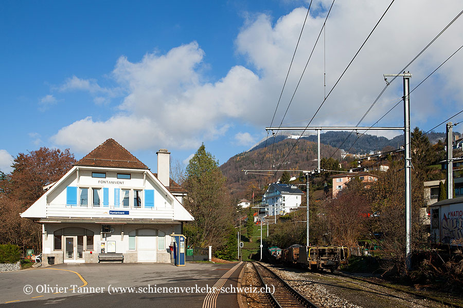"Bahnhof ""Fontanivent"""