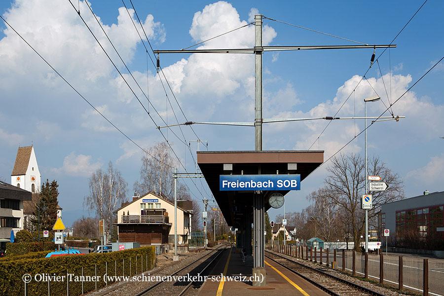 "Bahnhof ""Freienbach SOB"""