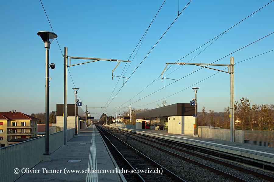 "Bahnhof ""Fribourg Freiburg Poya"""