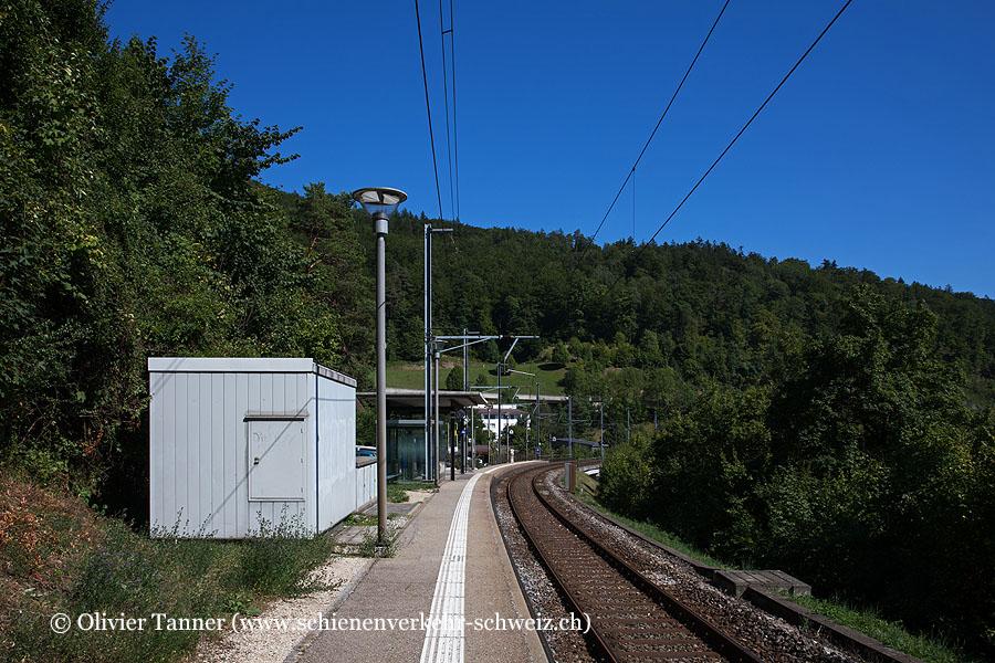 """Bahnhof """"Frinvillier-Taubenloch"""""""