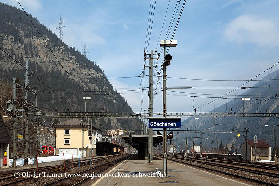 """Bahnhof """"Göschenen"""""""