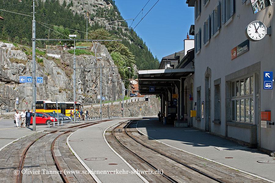 """Bahnhof """"Göschenen MGB"""""""