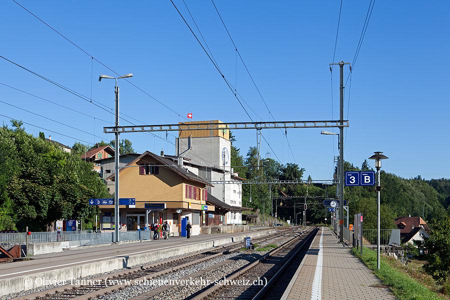 """Bahnhof """"Gümmenen"""""""