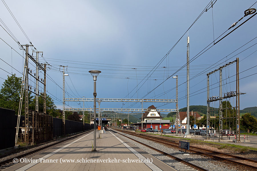 """Bahnhof """"Gelterkinden"""""""