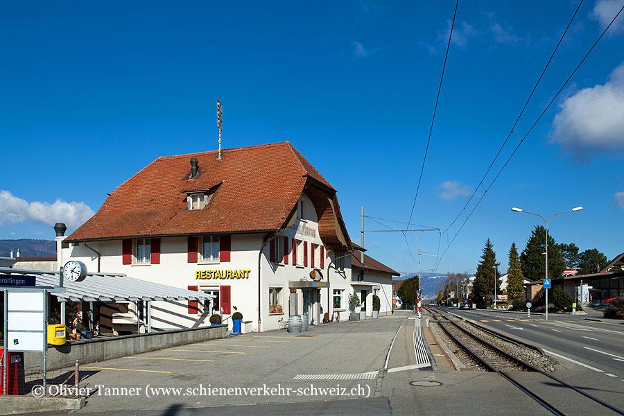 """Bahnhof """"Gerolfingen"""""""