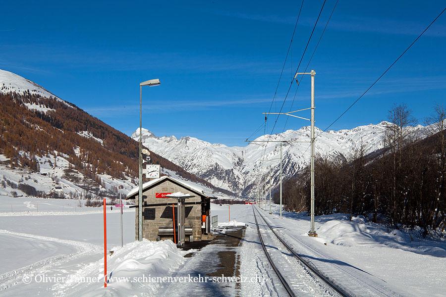 """Bahnhof """"Geschinen"""""""