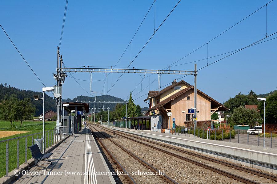 """Bahnhof """"Gettnau"""""""
