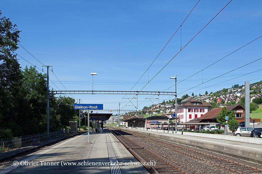 "Bahnhof ""Gisikon-Root"""