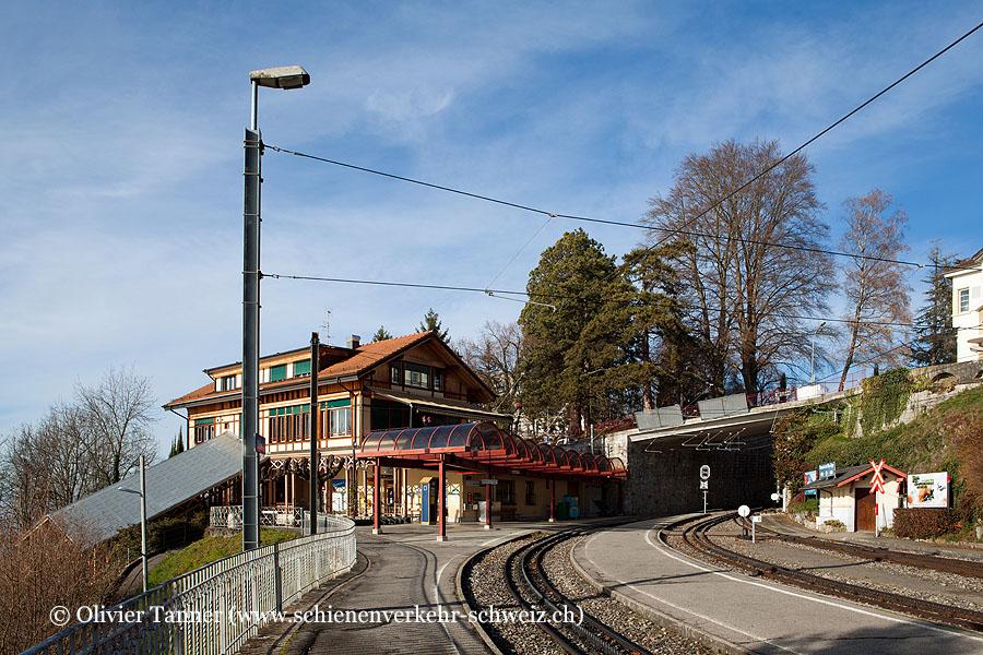 """Bahnhof """"Glion"""""""