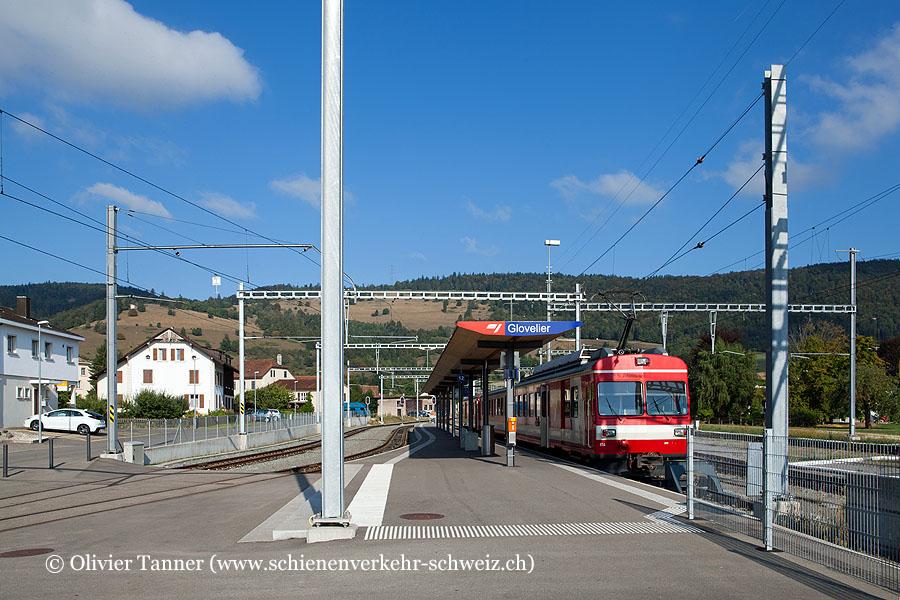 "Bahnhof ""Glovelier cj"""