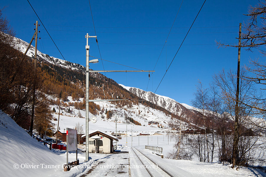 """Bahnhof """"Gluringen"""""""