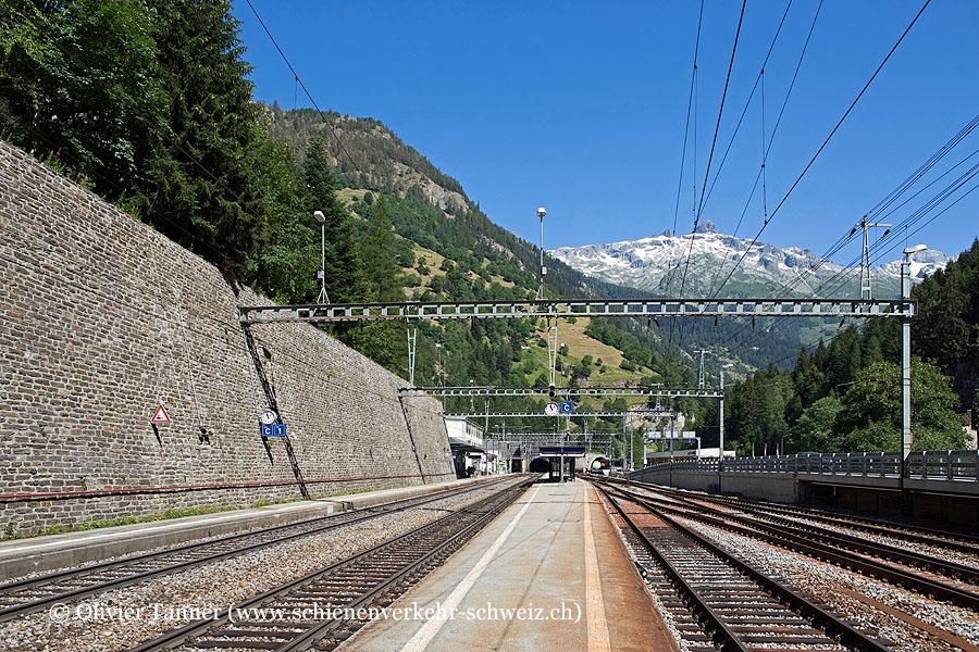"""Bahnhof """"Goppenstein"""""""