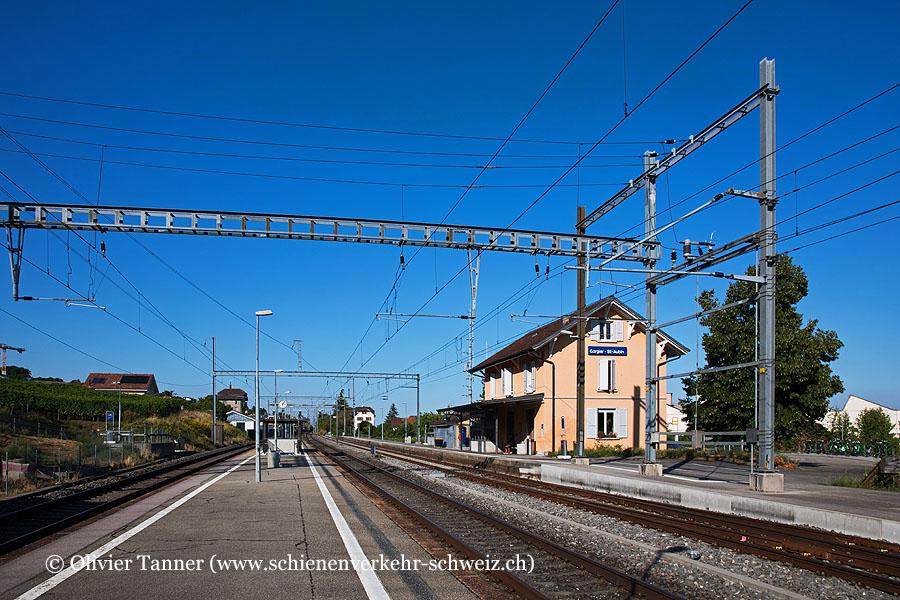 "Bahnhof ""Gorgier-St-Aubin"""