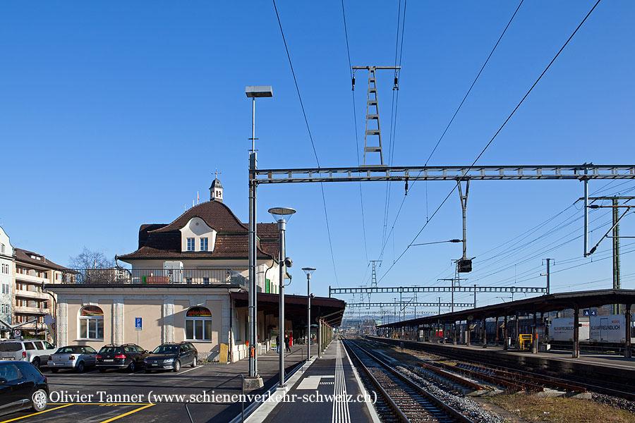 "Bahnhof ""Gossau SG"""