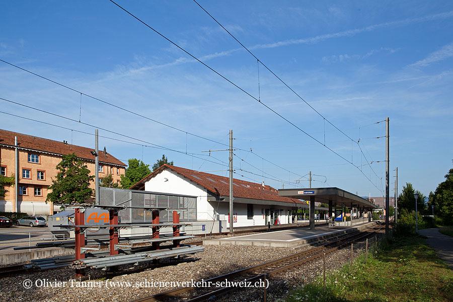 """Bahnhof """"Gränichen"""""""