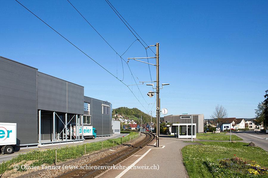 """Bahnhof """"Gränichen Töndler"""""""
