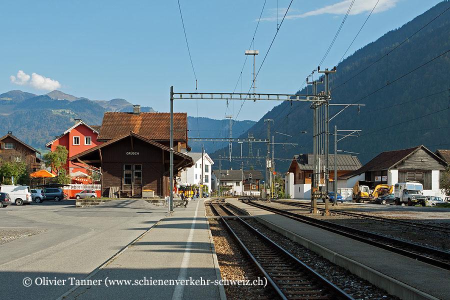 "Bahnhof ""Grüsch"""
