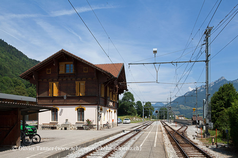 "Bahnhof ""Grandvillard"""