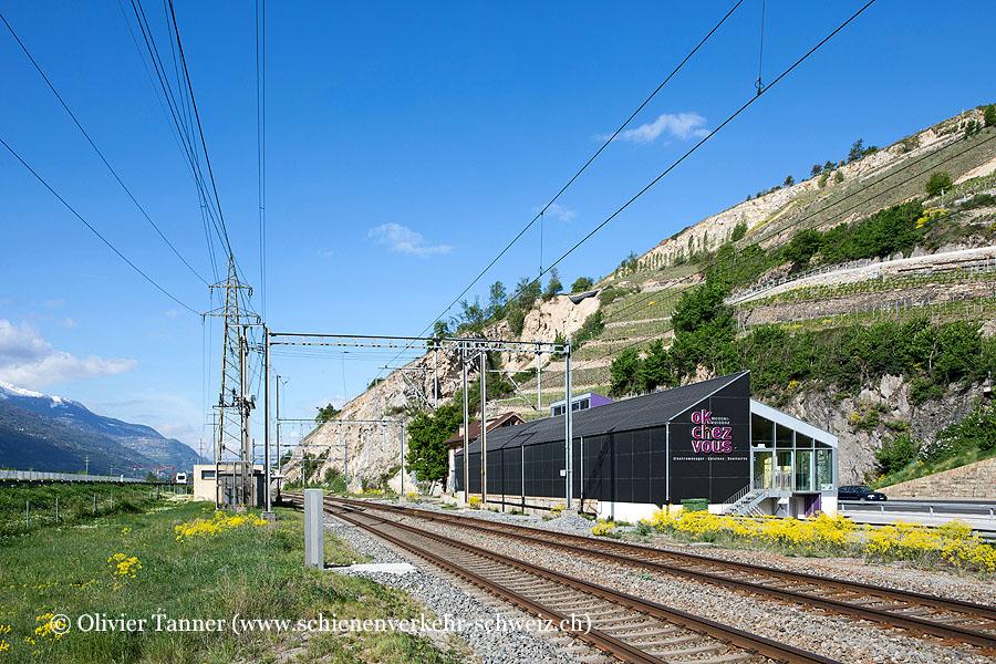 """Bahnhof """"Granges-Lens"""""""