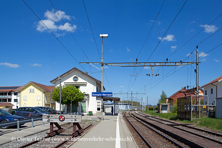 "Bahnhof ""Granges-Marnand"""