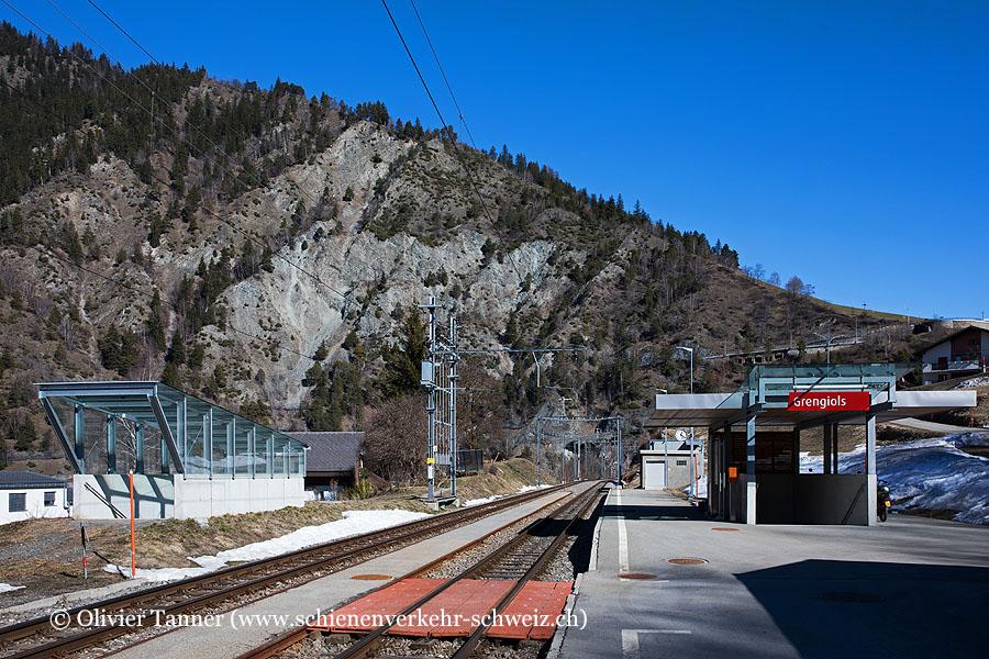 "Bahnhof ""Grengiols"""