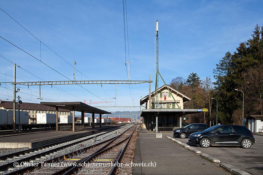 """Bahnhof """"Gwatt"""""""