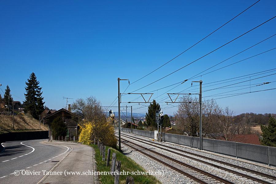 """Bahnhof """"Gwattstutz"""""""