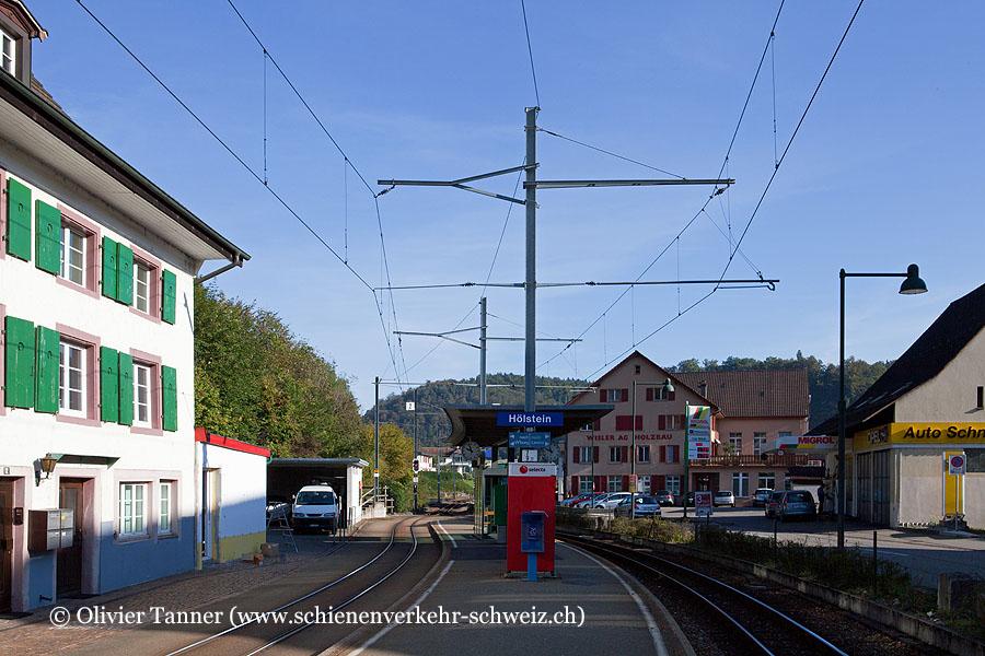 """Bahnhof """"Hölstein"""""""