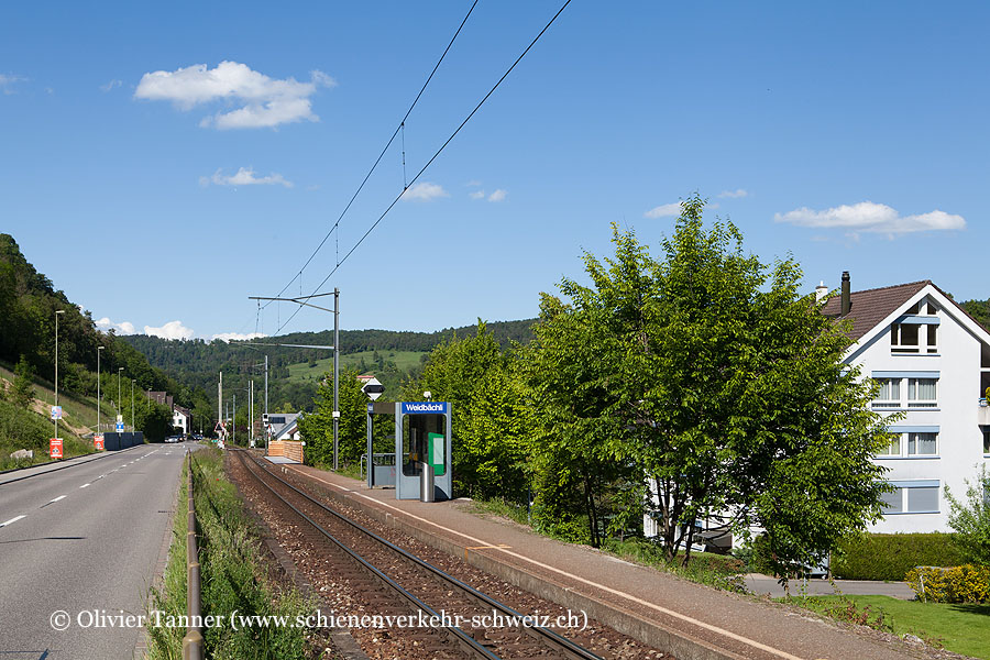 """Bahnhof """"Hölstein Weidbächli"""""""