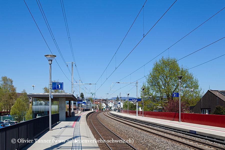 """Bahnhof """"Hünenberg Zythus"""""""
