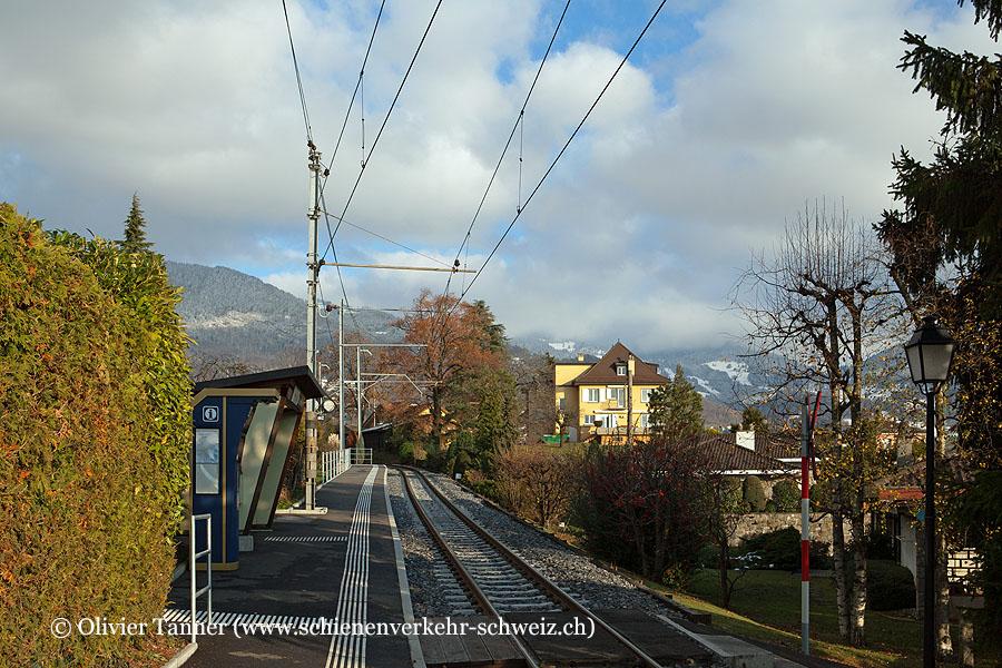 """Bahnhof """"Hauteville"""""""