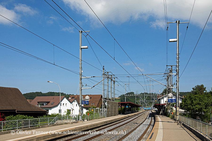 """Bahnhof """"Hedingen"""""""