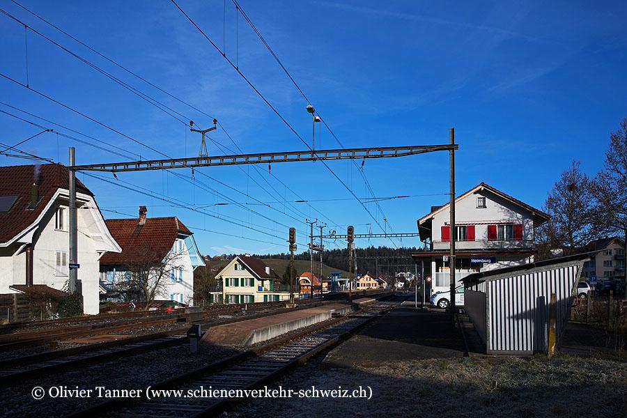 """Bahnhof """"Heimberg"""""""